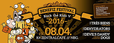 Plakat für »Rock the Kids V 2016